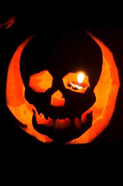 Jack-o-lantern Carved by Malachi Photo by Kym Kemp