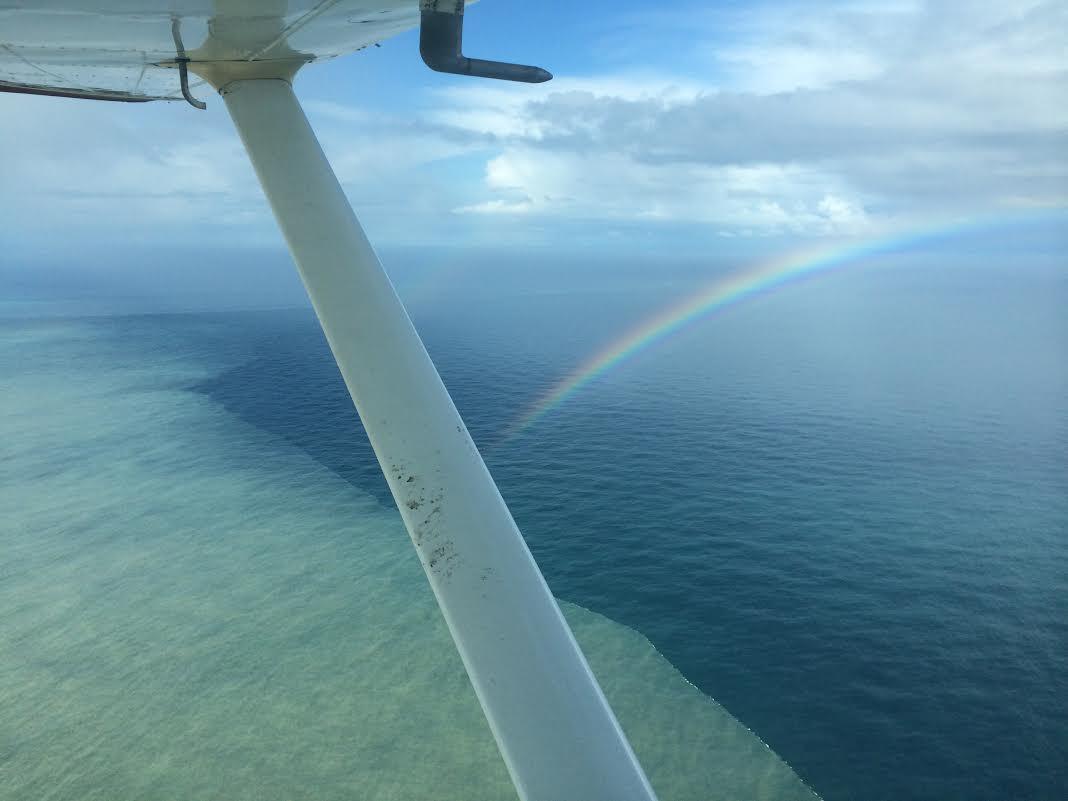 Rainbow air!