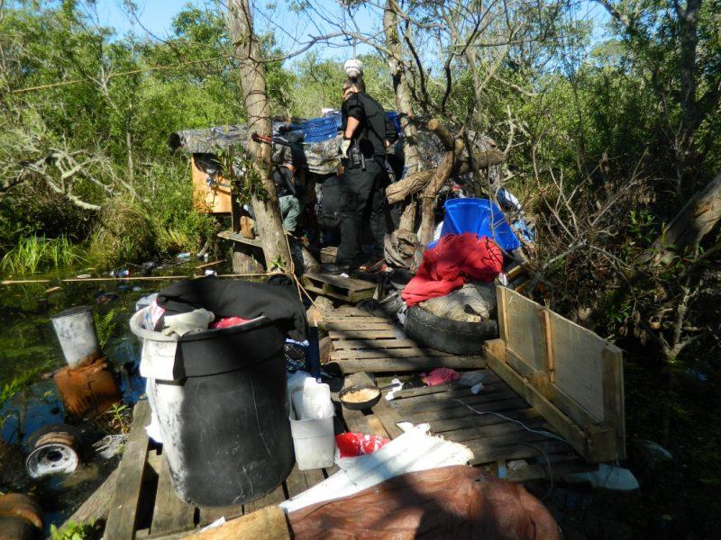 Stockhoff's island camp