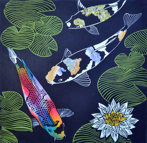 Sundgren Smith, Patricia - Koi Pond 2015