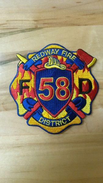 Redway fire