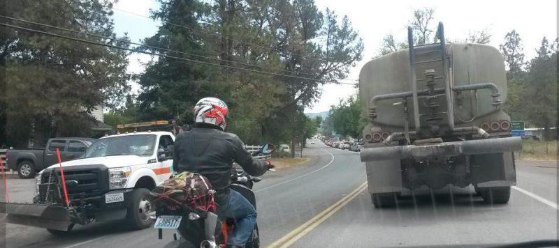 Willits traffic