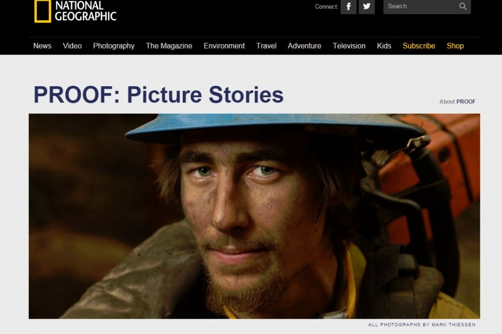The article features multiple beautiful shots of firefighters who came to battle the Fork Complex. [Screengrab from National Geographic]
