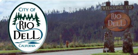 Rio Dell sign