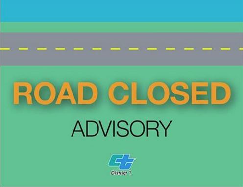 Road Closed Caltrans