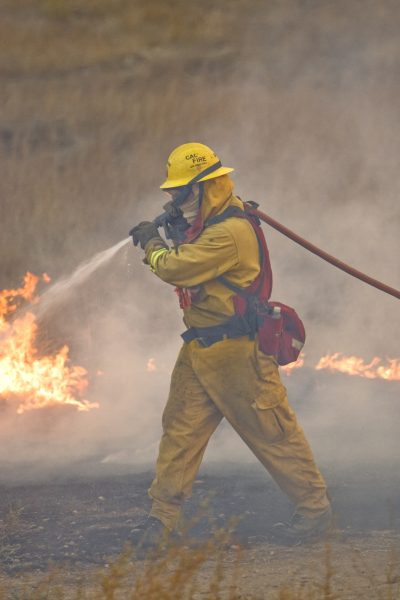 Harris Fire In San Diego Co, California