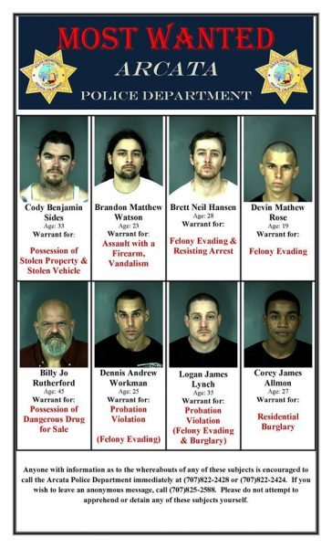 Arcata Most Wanted