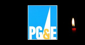 PG&E FEATURE Candle electricity power
