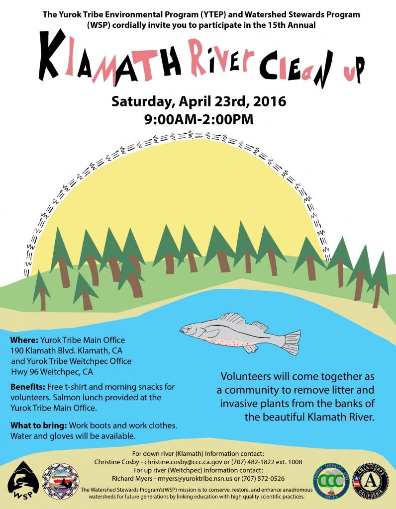 Klamath River Clean Up Poster 2016 Final