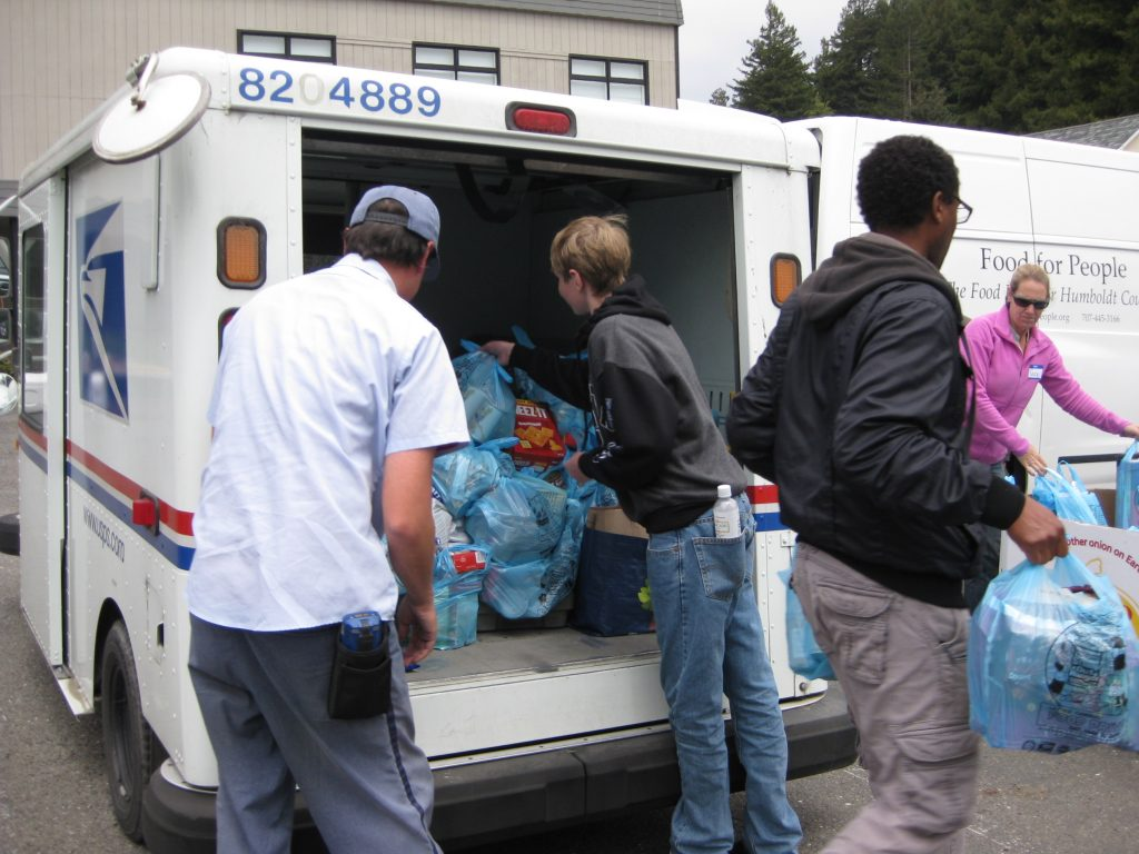 Letter Carriers Food Drive 1