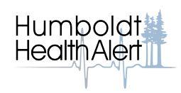 Humboldt Health Alert