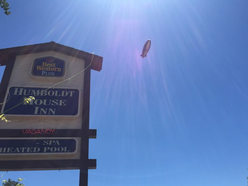 Garberville, Goodyear Blimp