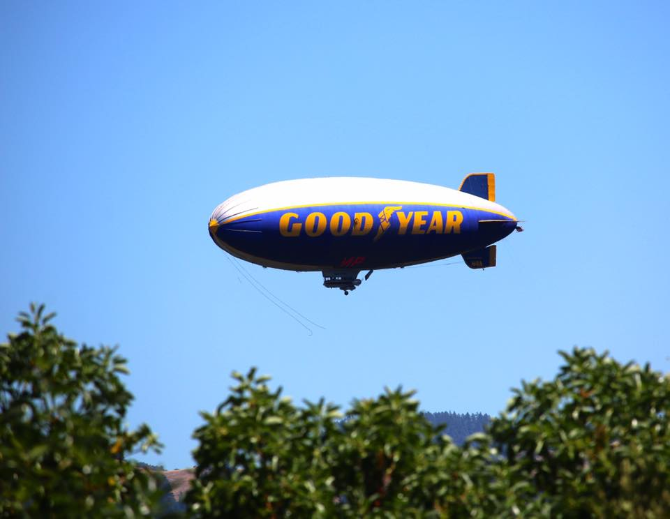 Crystal Soloman photo of Blimp over Miranda