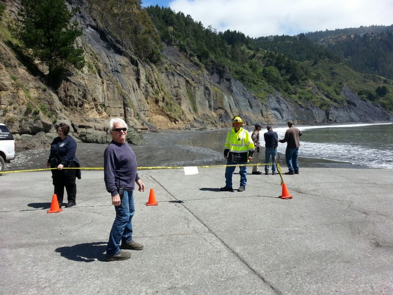 Shelter cove landslide by Cheryl Antony