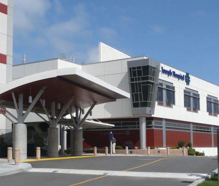 St. Joseph Hospital Eureka [Image from here]