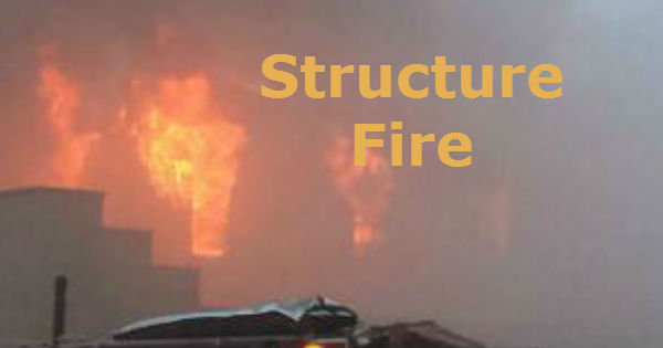 Structure fire feature