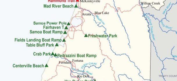 Humboldt County Park Map