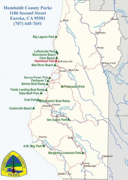 Humboldt County Park Map