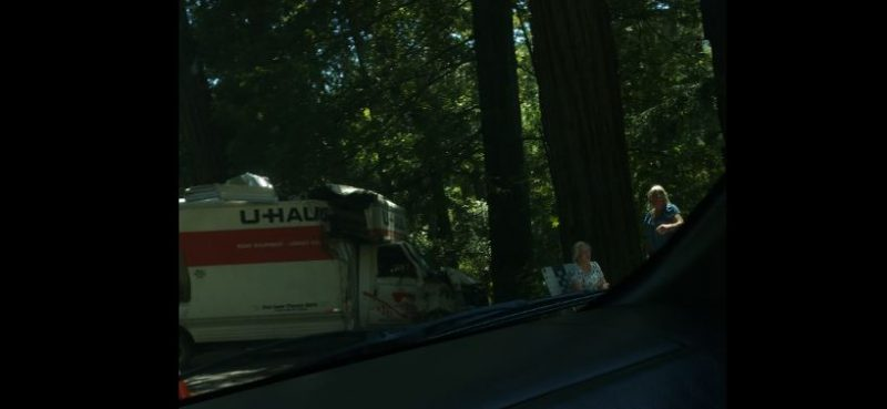 uhaul accident