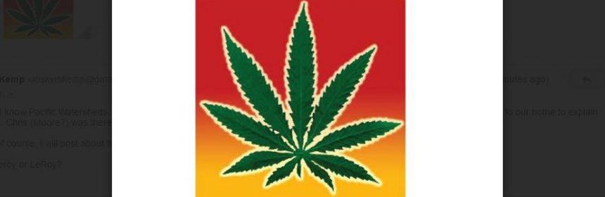 marijuana symbol