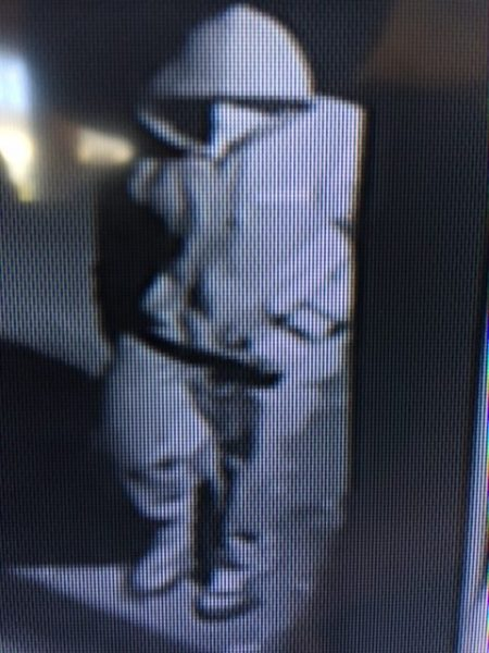 Surveillance camera image of thief