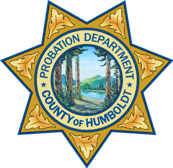 Probation badge Humboldt County, California
