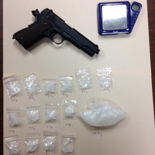 Pellet gun drugs 7/31/16
