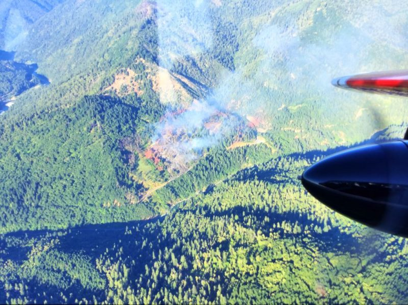 Milepost fire at 7:09 p.m. July 4, 2016