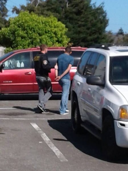 EPD arrests one photo by Bobby Kroeker