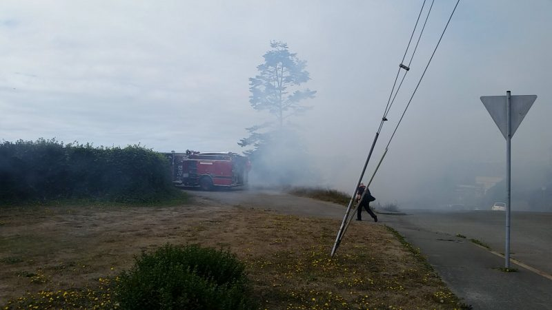 Fire in Eureka