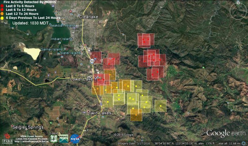 UPDATE Pm Hwy Reopened Maps Of The Clayton Fire - Us active fire map