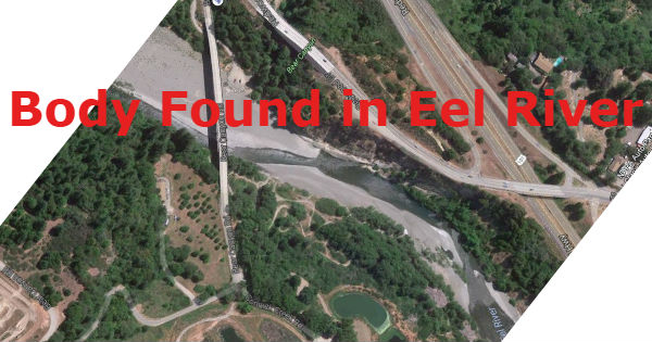 Body found in Eel River map