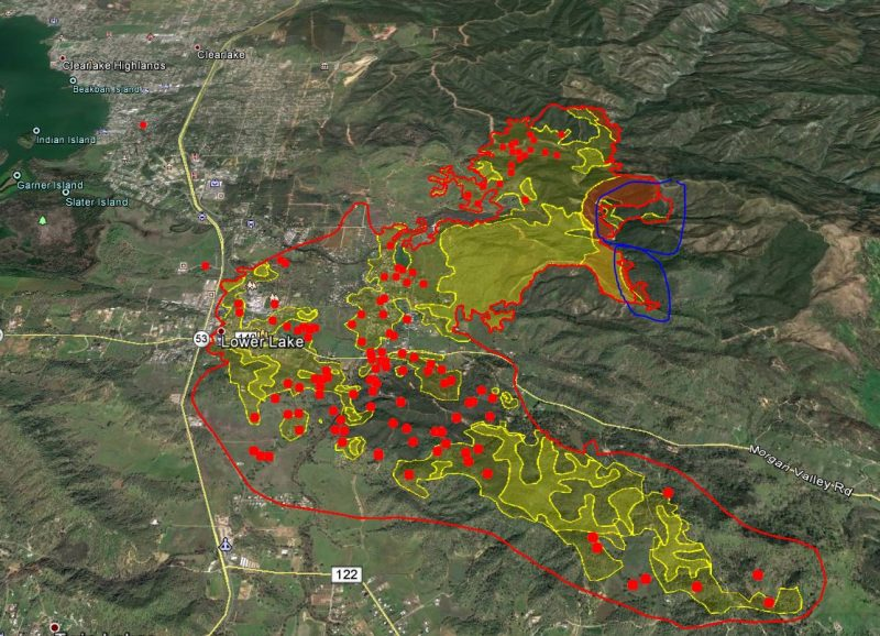 Update Wednesday 8 A M Clayton Fire Day 3 Maps Photos More
