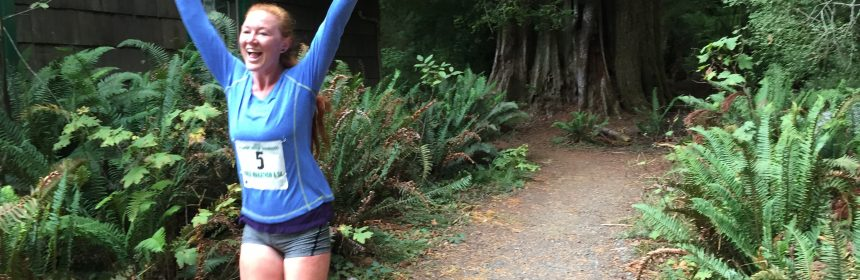 Running in the redwoods