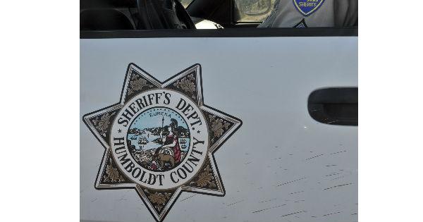 Sheriff Humboldt side of vehicle