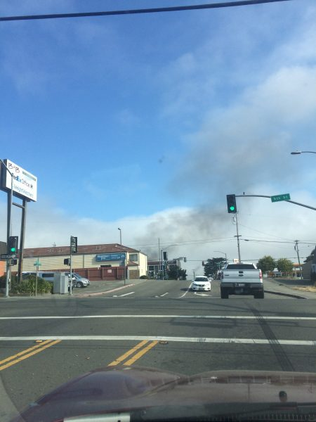 Eureka Fire August 20, 2016