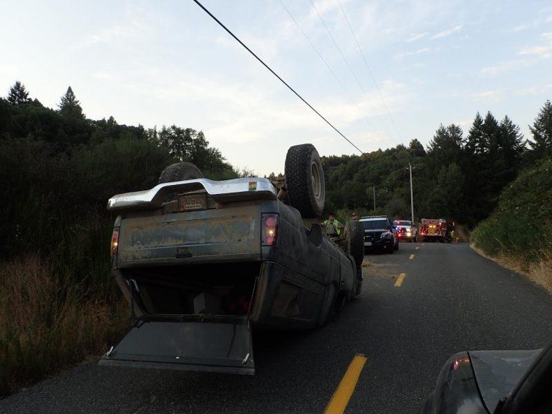 Flipped Toyota
