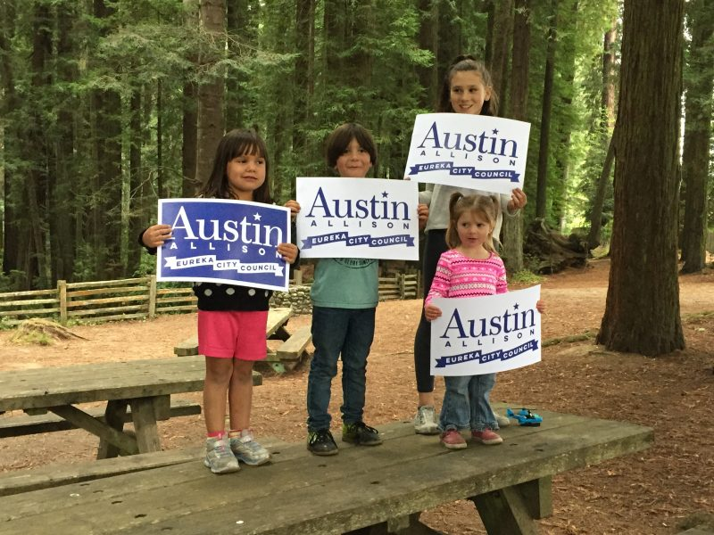 Austin for city Council Eureka
