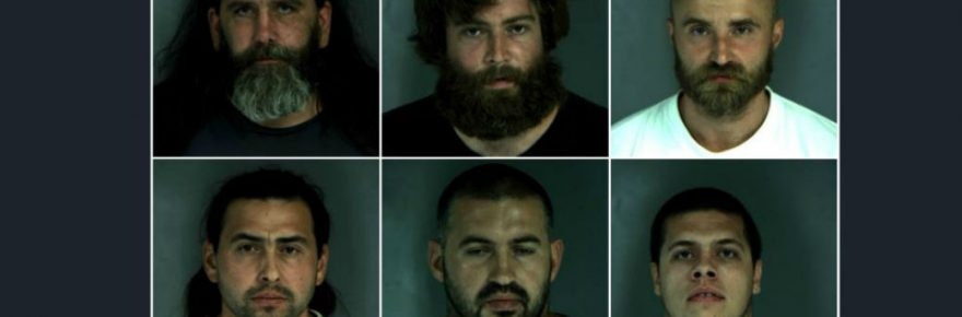 Mugshots of cannabis arrests in Humboldt