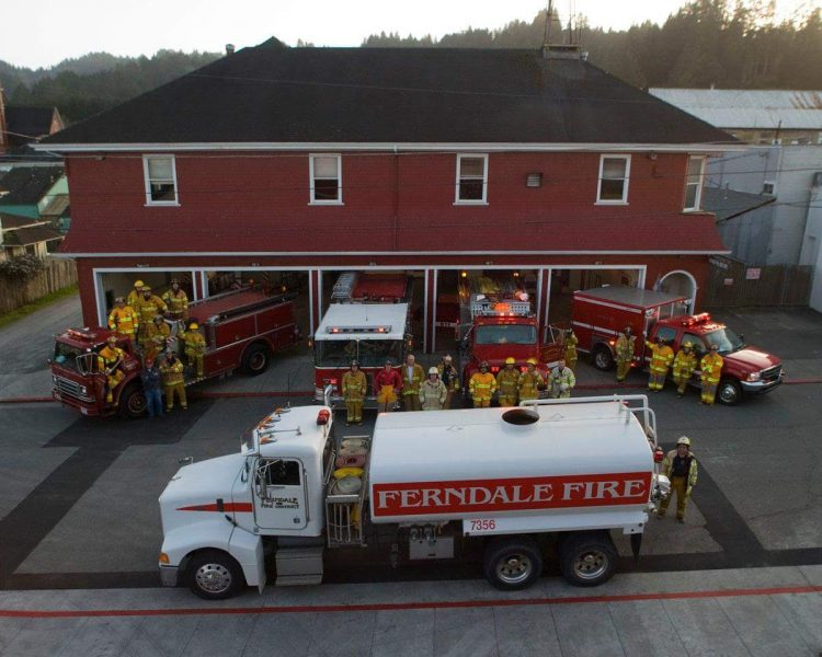 Ferndale Fire Department provided by them