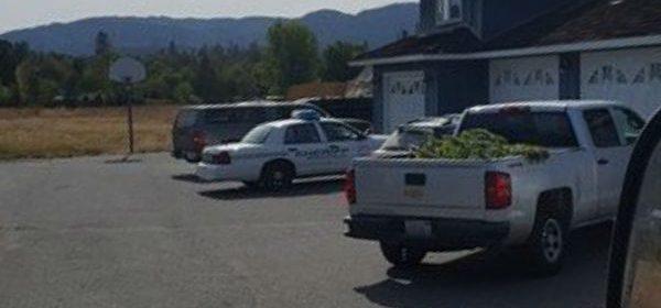 marijuana in back of law enforcement vehicle