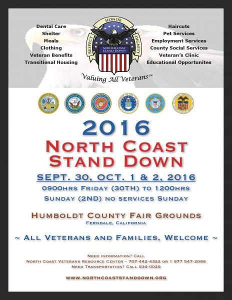 North Coast Stand down