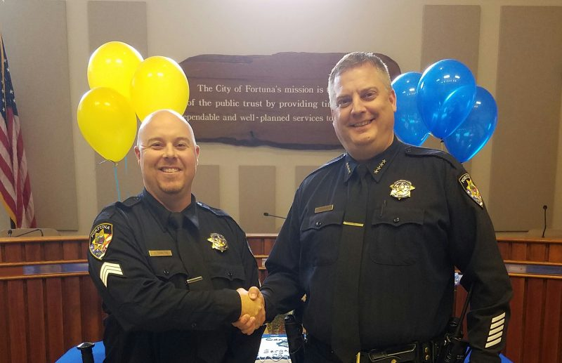 Gabe Charlton has been promoted to Sergeant.