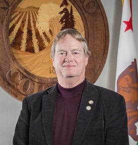 Mendocino Supervisor Tom Woodhouse