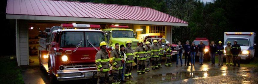 Briceland Fire