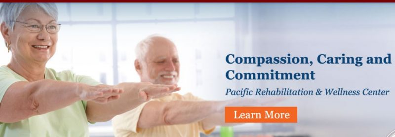 Pacific Rehabilitation and Wellness Center webpage