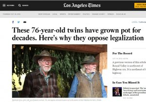 Los Angeles Times Story