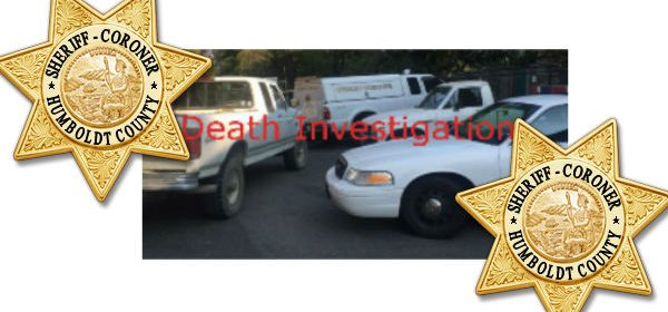 Death investigation, coroner, sheriff Humboldt