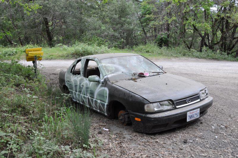 Abandoned Cars Of The Emerald Triangle Redheaded Blackbelt