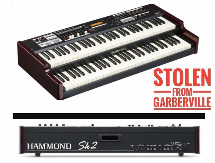 Stolen Keyboard